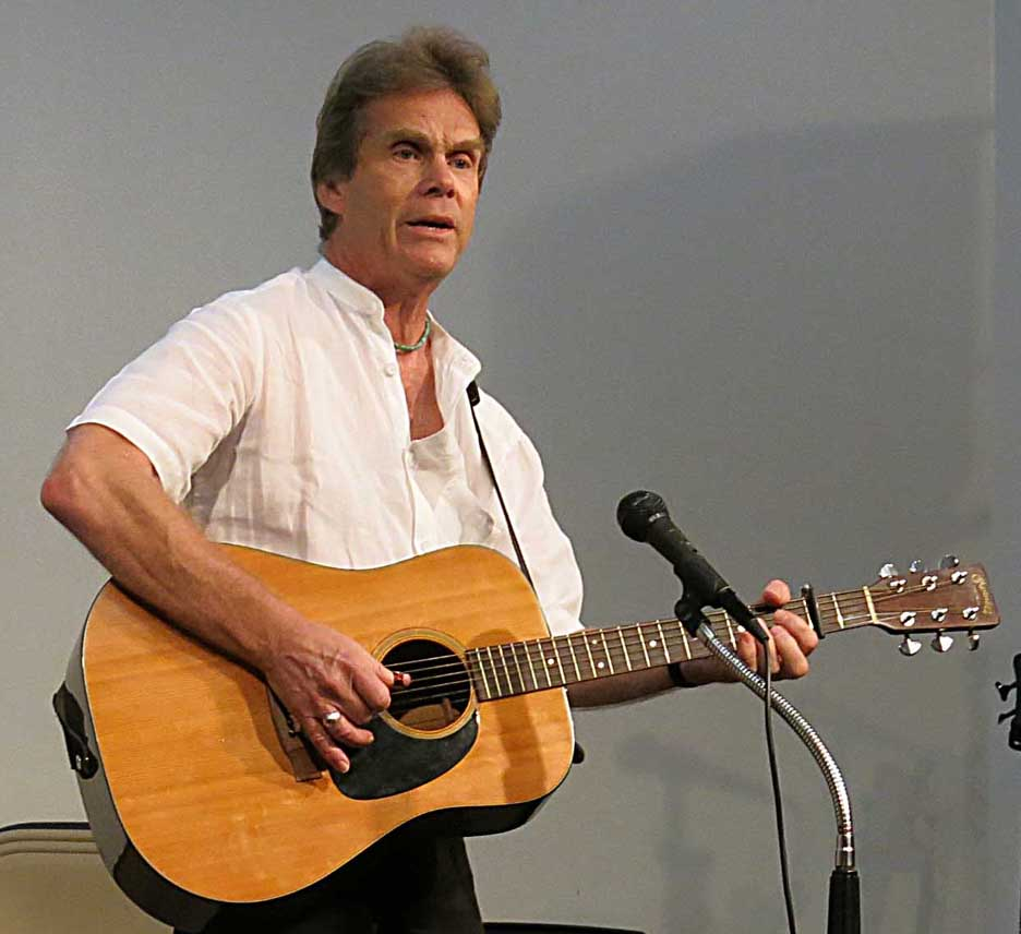 Rick at Peoria Library, Peoria, Arizona Mon 22nd September 2014 by Myrna Foster