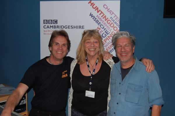 Rick, Sue Marchant, and Tony Winn, on Sue Marchant's Big Night In, BBC Cambridgeshire 19th October 2014
