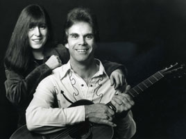 Rick Christian and Julia Pascoe c. 1998 Photo by Mike Peters